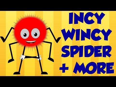 Incy Wincy Spider   Baa Baa Black Sheep   Finger Family   Nursery Rhymes video