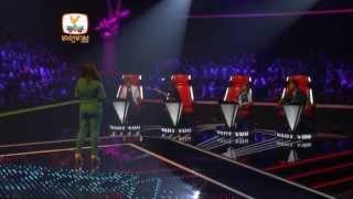 The Voice Cambodia - ស៊ូ ស៊ីរីការ - គ្មានថ្ងៃអូនមិនយំ - 3 Aug 2014