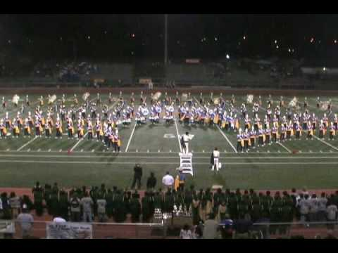 2008 - UCLA Bruins Solid Gold sound Band at Rowland FS 10-18-08 Video