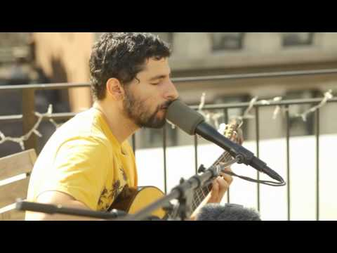 Jose Gonzalez - Far Away (Exclusive on roof of Rockstar Games New York)