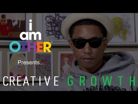 Pharrell Williams Introduces Creative Growth