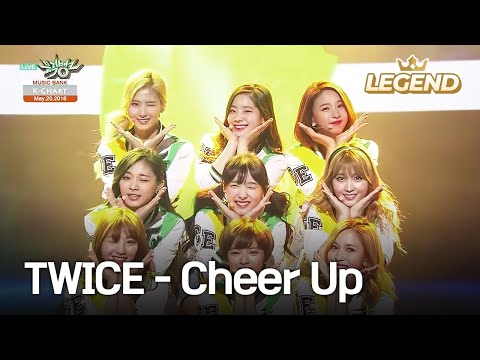 TWICE (트와이스) - Cheer Up [Music Bank K-Chart #1 / 2016.05.20]