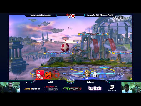 KTAR XI - Widl (Yoshi) vs BrimeZ (Link) SSB4 Singles Bracket Pools Losers Bracket - Smash for Wii U