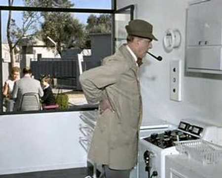 Jaques tati mon oncle kitchen scene youtube - Jacques tati mon oncle ...