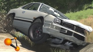BeamNG.Drive Mod : Honda Prelude SN (Crash test)