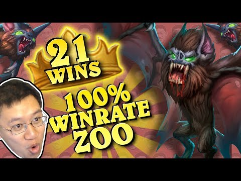 ZOO IS OP! 100% WIN RATE FOR 21 GAMES!! - Standard Constructed - The Witchwood