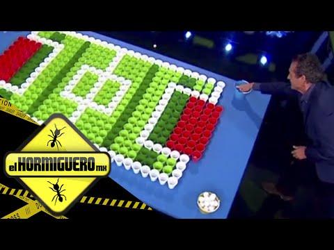 ¿Quien es mejor el Piojo o Jorge Valdano? Jugando Ping pong soccer