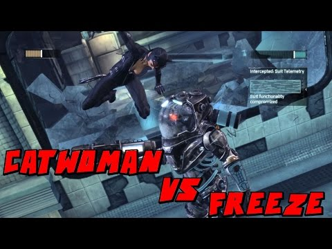 Batman Arkham City Catwoman VS Mr Freeze Mod