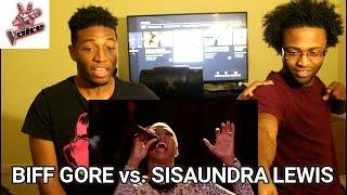 "Download Lagu Biff Gore vs. Sisaundra Lewis: ""It's a Man's Man's Man's World""   The Voice   (REACTION) Gratis STAFABAND"