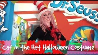 Cat in the Hat Halloween Costume!
