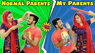 Normal Parents Vs My Parents | Parents : Expectation Vs Reality | Hungry Birds Comedy Video