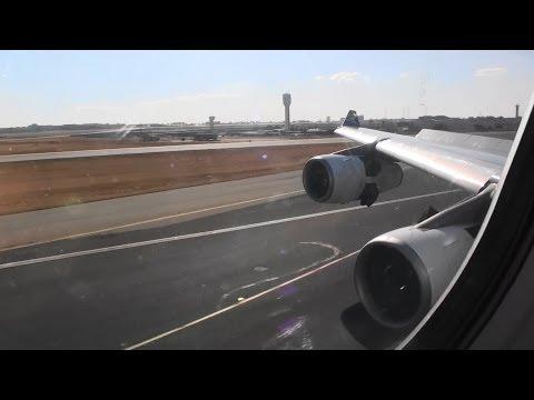 Fantastic Business Class HD A340-300 Landing In Johannesburg South Africa!!!