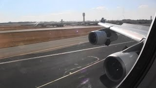 Fantastic Business Class HD A340-300 Landing In Johannesburg South Africa!!!