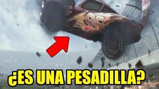 ¿LA MUERTE DE EL RAYO MCQUEEN EN CARS 3 ES UNA PESADILLA?