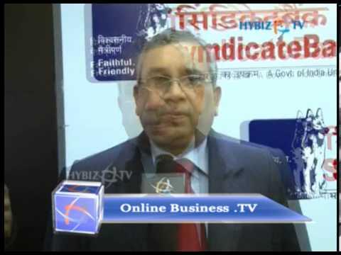 H N Vishweshwar, Executive Director, Syndicate Bank.