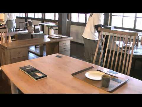高山市 「市政記念館」 ~ものづくりウィーク 飛騨の工房家具新作展~