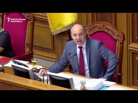 Drone Disrupts Ukrainian Parliament