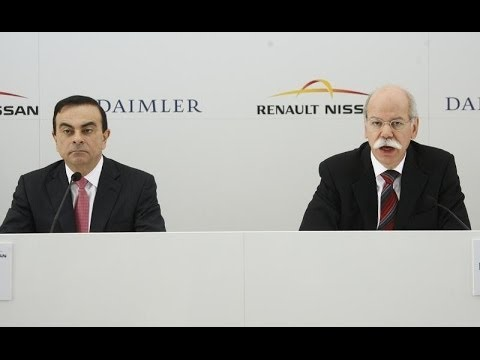 Renault-Nissan Alliance & Daimler - New Plant In Mexico