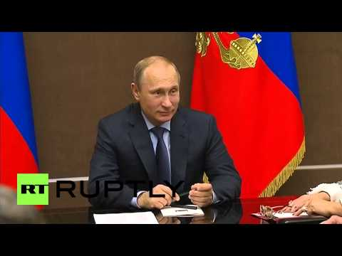 Russia: Putin meets Security Council to talk IS, Ebola and Ukraine