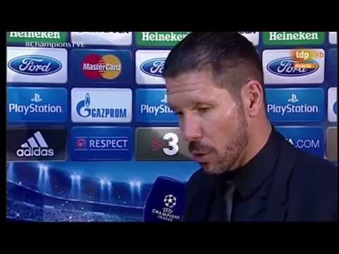 ATLETICO MADRID 1-0 BARCELONA  - Simeone