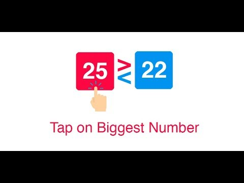 BIG Number? - Tap on Biggest Number Game 2018 thumb