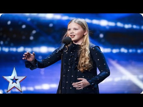 Beau Dermott is Amanda Holdens golden girl  | Week 1 Auditions | Britain's Got Talent 2016