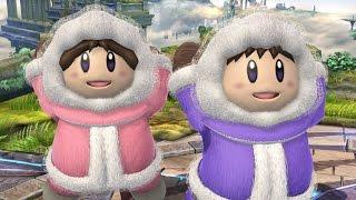 ICE CLIMBERS IN SMASH 4! (Super Smash Bros. Wii U Mod Showcase)