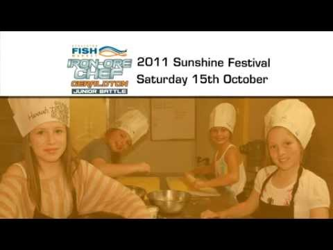 Geraldton Fish Markets Iron Ore Chef Competition Advert