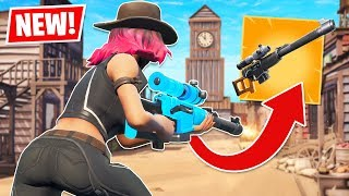New AUTOMATIC SNIPER RIFLE and TILTED TOWN Update! (Fortnite Battle Royale)