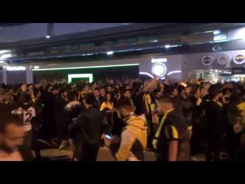 Fenerbahçe Taraftarından Maça Yoğun İlgi