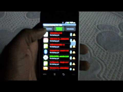 Huawei CM980 - Como eliminar aplicaciones de fabrica usando Titanium Backup