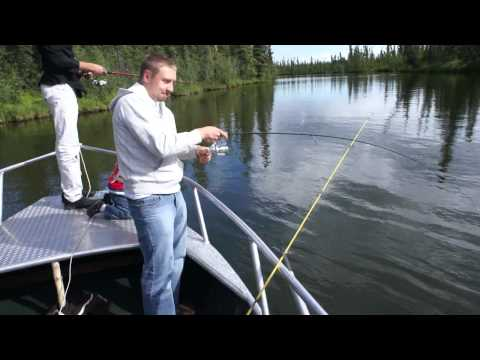 Alaska Fishing - Clearwater Grayling Fishing - BV