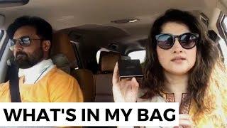 What's In My Bag | RoadTrip | Vlog | Sahiba | Rambo | Lifestyle With Sahiba