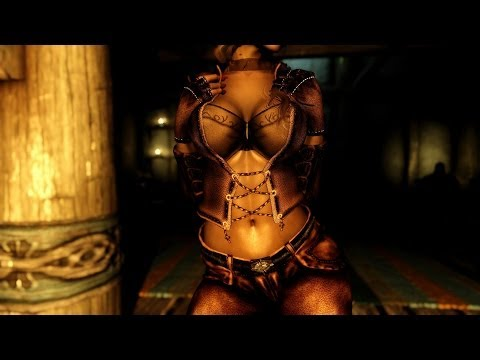 Skyrim Mods Review 23: Demon Hunter Armor BBP. Faallokaar. Pretty Ranger Sevenbase. MBWS Serana