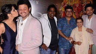 Bhikari Marathi Movie Special Screening | Ganesh Acharya, Swapnil Joshi, Sachin Pilgaonkar, Sai