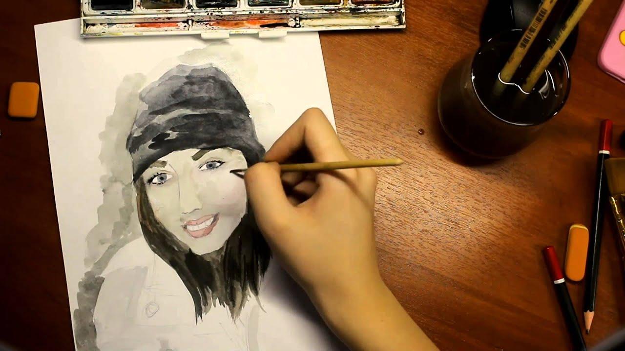 Как сделать в стиле карандашного рисунка