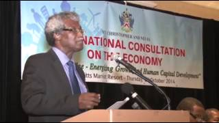 ECCB Governor on the St. Kitts Economy