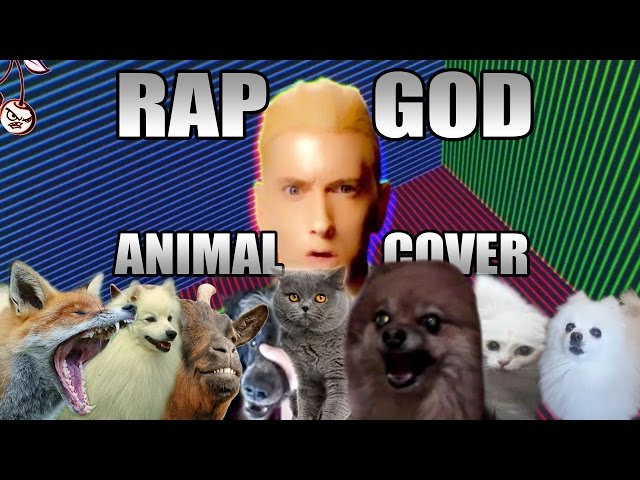 Eminem's 'Rap God' Sung By Animals - Video