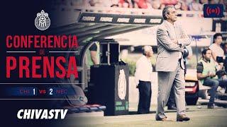 EN VIVO: Conferencia de prensa | Toms Boy | Postpartido | Chivas 1-2 Necaxa