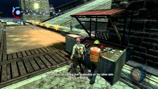 Infamous (PS3) - incidental glitches