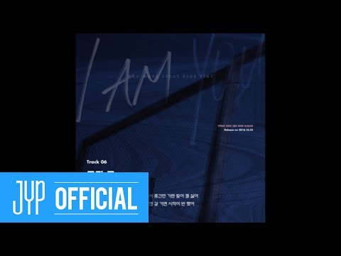 "Stray Kids 〈I am YOU〉  Inst. Lyric Card 6 ""극과 극(N/S)"""