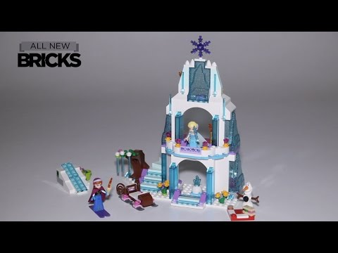 Lego Disney Princess 41062 Elsa's Sparkling Ice Castle Speed Build