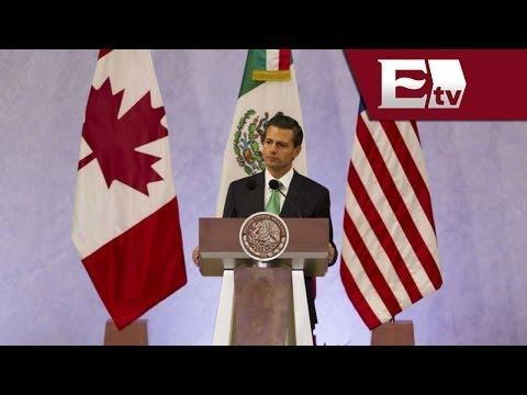 Peña Nieto habla de la Cumbre del Norte 2014 / Excélsior informa