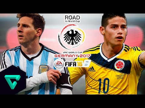 Argentina vs. Colombia | CONMEBOL | Road To World Cup Germany 2017 | FIFA 16