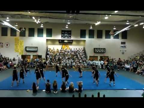 2012 Junior Male Cheerleaders DeLand High School Growl