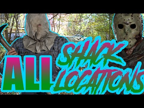 JASON'S SHACK - All Locations - Friday the 13th: The Game - Tips and Strategy