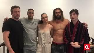 Justice League cast endorses Release the Snyder Cut