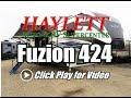 2018 Fuzion 424 Front Porch Luxury Keystone Fifth Wheel Toy Hauler