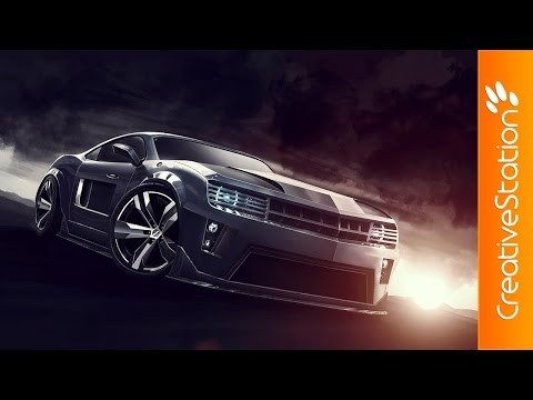 Camaro - Speed Painting (#Photoshop) | CreativeStation