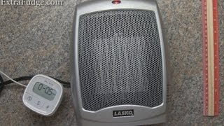 Lasko 754200 Ceramic Heater with Adjustable Thermostat Review